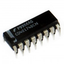 Circuito integrado CD40174 - CMOS Flip-Flop D