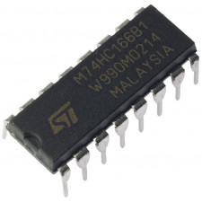 Circuito integrado 74HC166 - Shift Register