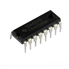 Circuito integrado 74HC595 - Shift Register