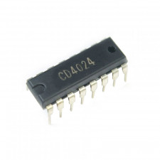 Circuito integrado CD4024 - 7-Stage Ripple Carry Binary Counter