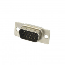 Conector DB15 Super VGA 180° Macho