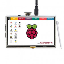 "Display LCD TFT Touch 5"" Raspberry Pi"