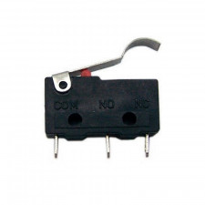 Chave Micro Switch KW11-3Z-3-3T Haste com curva