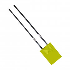 LED Retangular Amarelo 3mm