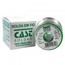 Rolo de Solda Estanho Lead Free 500g 0,75mm - Cast