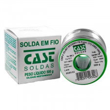 Rolo de Solda Estanho Lead Free 500g 1mm - Cast
